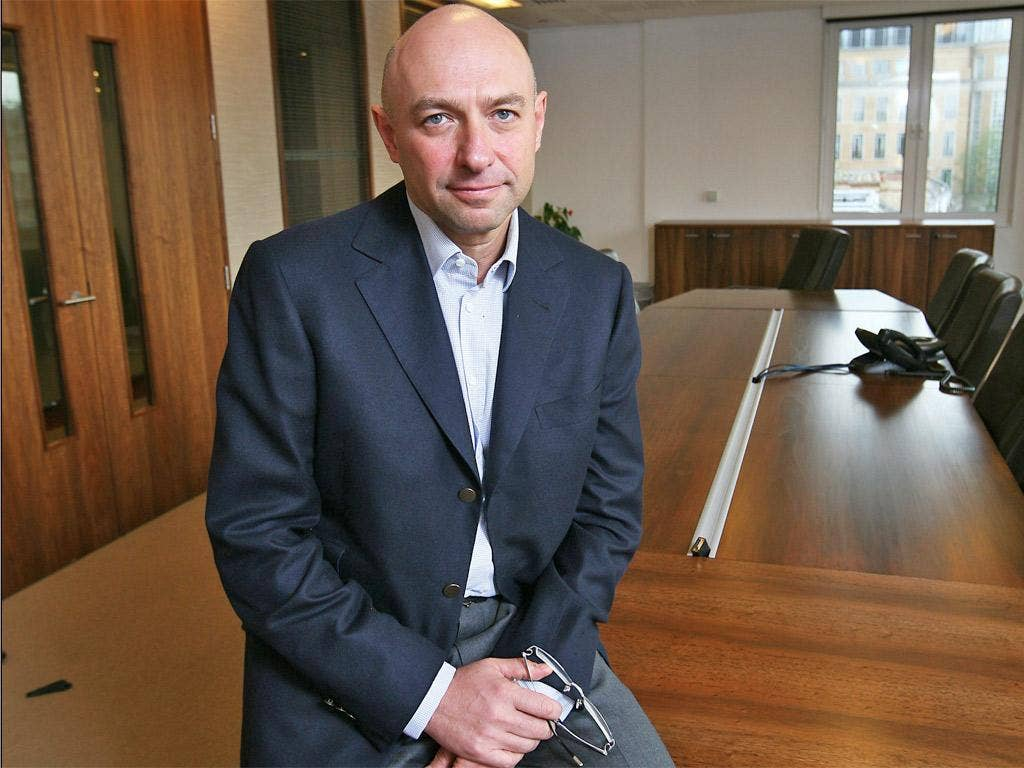 Gennady Bogolyubov has become a frequent visitor to London's civil courts