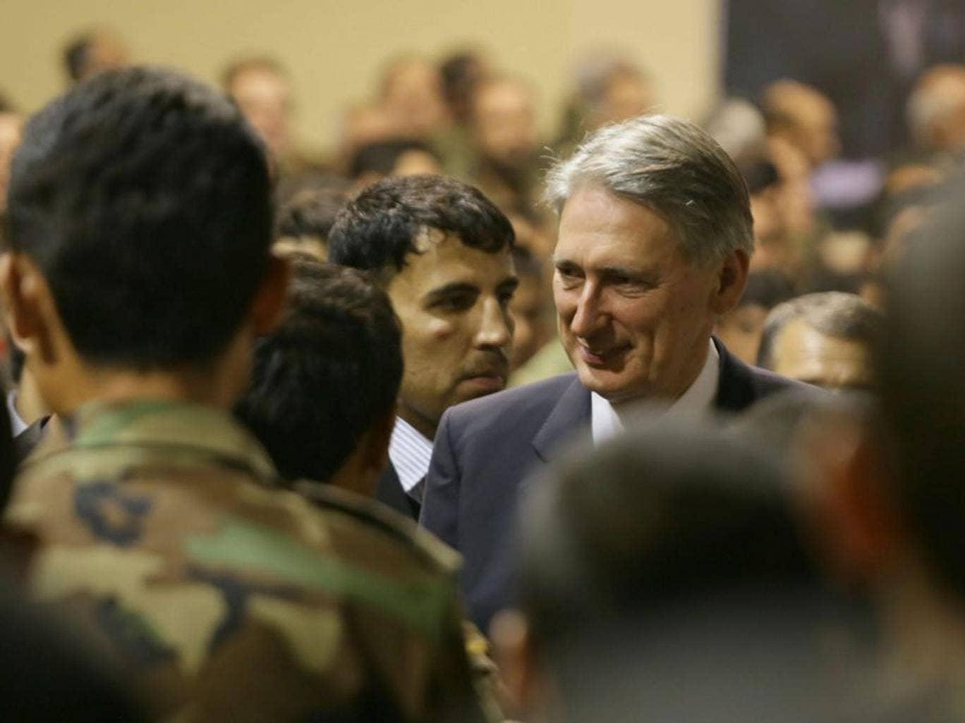In his letter, the Defence Secretary Philip Hammond said the amendment would be 'damaging to the army and Britain's military capability'