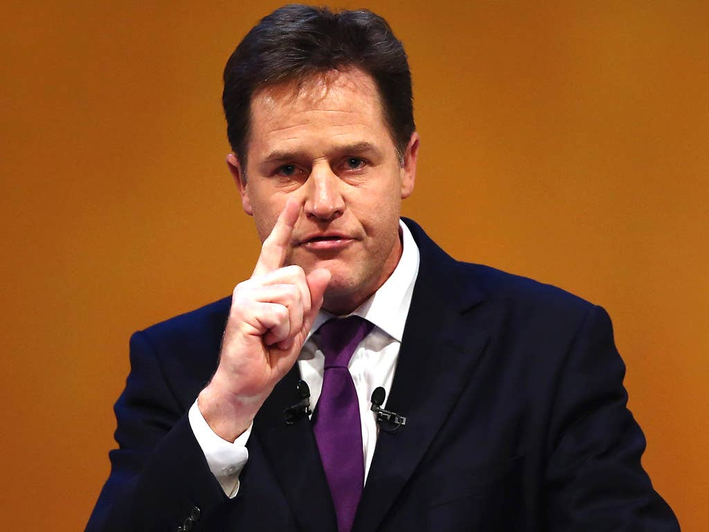 The IPPR study suggests that Nick Clegg may have got his sums wrong