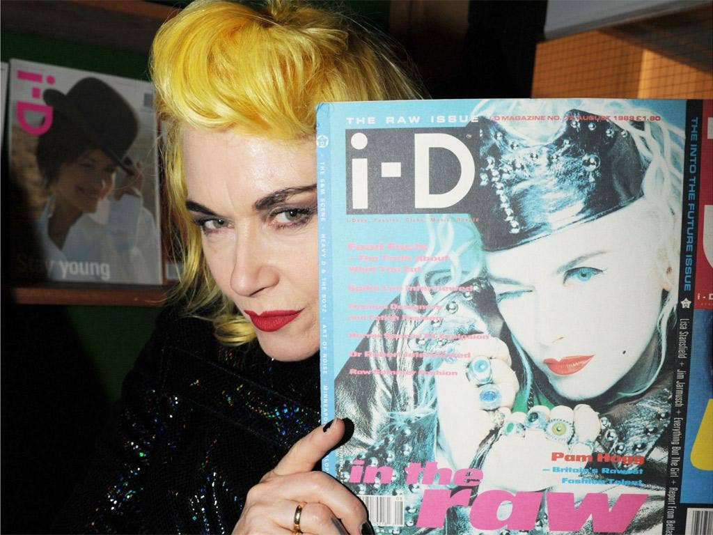 Vice has given i-D, the cult style magazine from the Eighties and popular with fashion designer Pam Hogg (pictured), a new lease of life since buying it last year