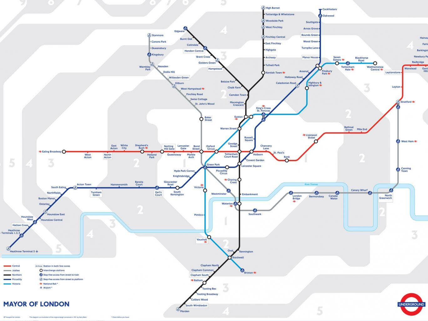 From 2015, these London Underground lines will run a 24-hour weekend service