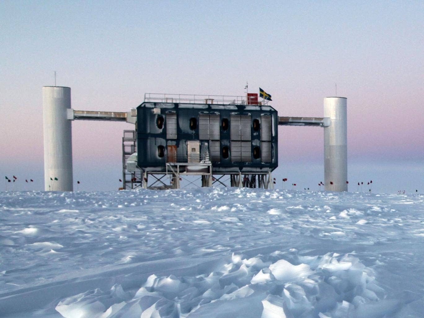 The IceCube Laboratory at the Amundsen-Scott South Pole Station, Antarctica