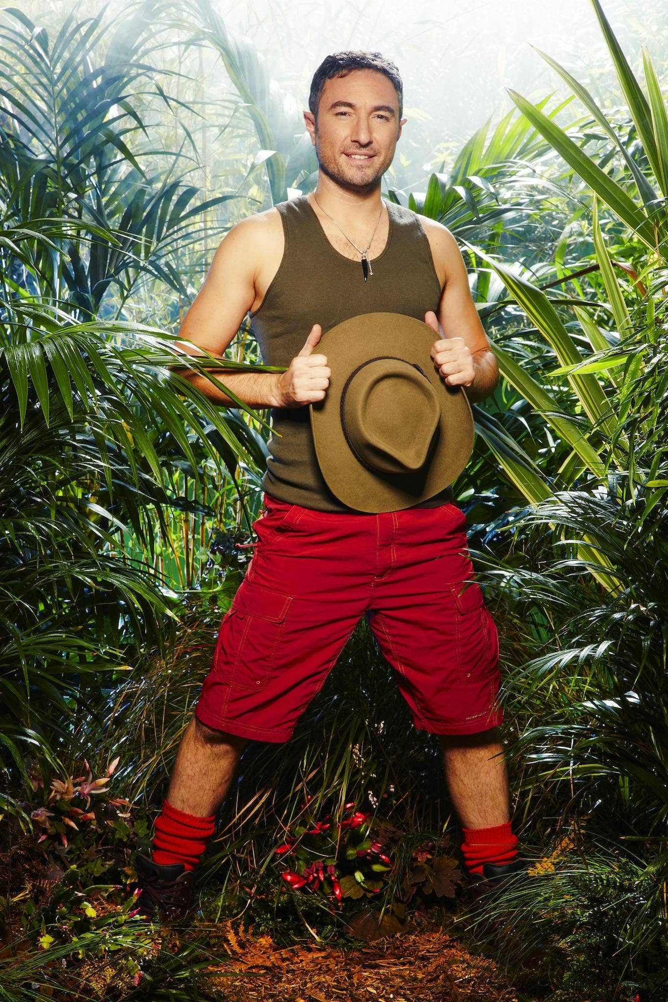 I'm a Celebrity 2013: Professional dancer and ex-Strictly star Vincent Simone