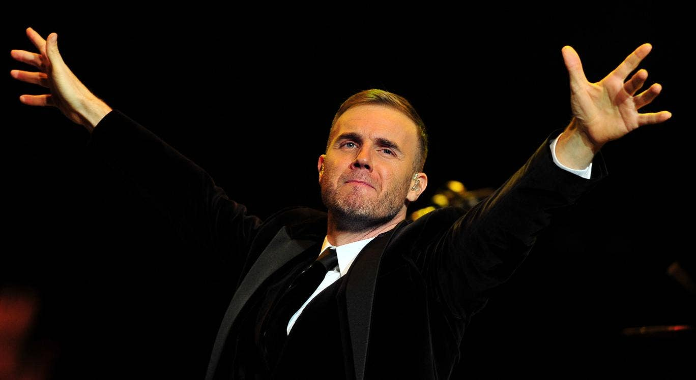 Take that! Gary Barlow's latest album has shot to number two in the UK album charts despite his involvement in a tax avoidance scandal