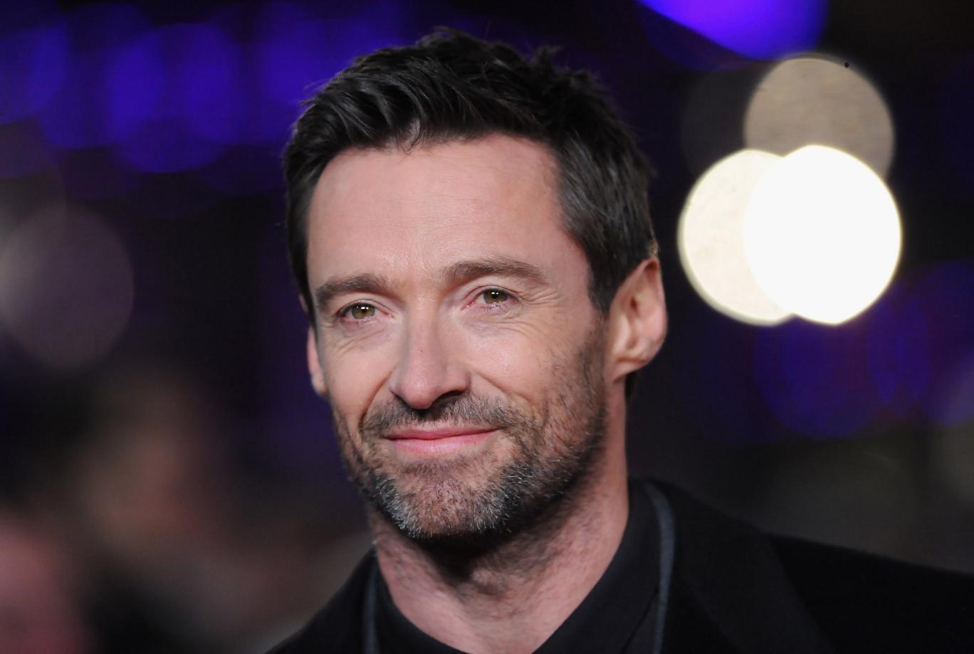 Hugh Jackman attends the Les Miserables world premiere
