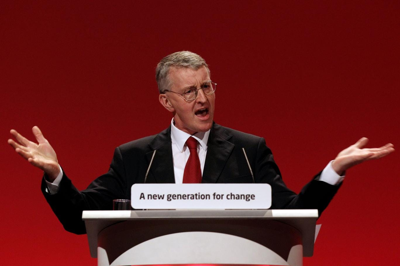 What's in a name: Labour MP Hilary Benn