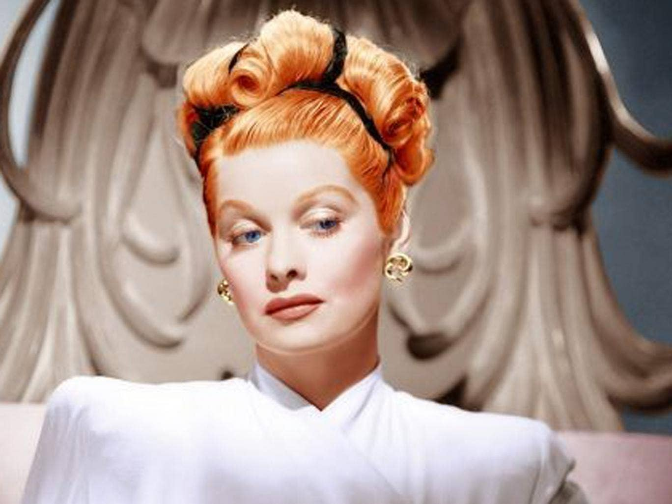 Are you a believer? Lucille Ball in the 1940s