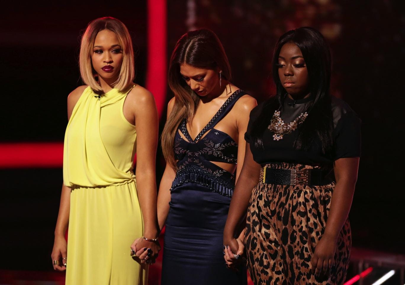 Hannah Barrett is sent home after Rough Copy and Nicole's other act Tamera Foster are saved