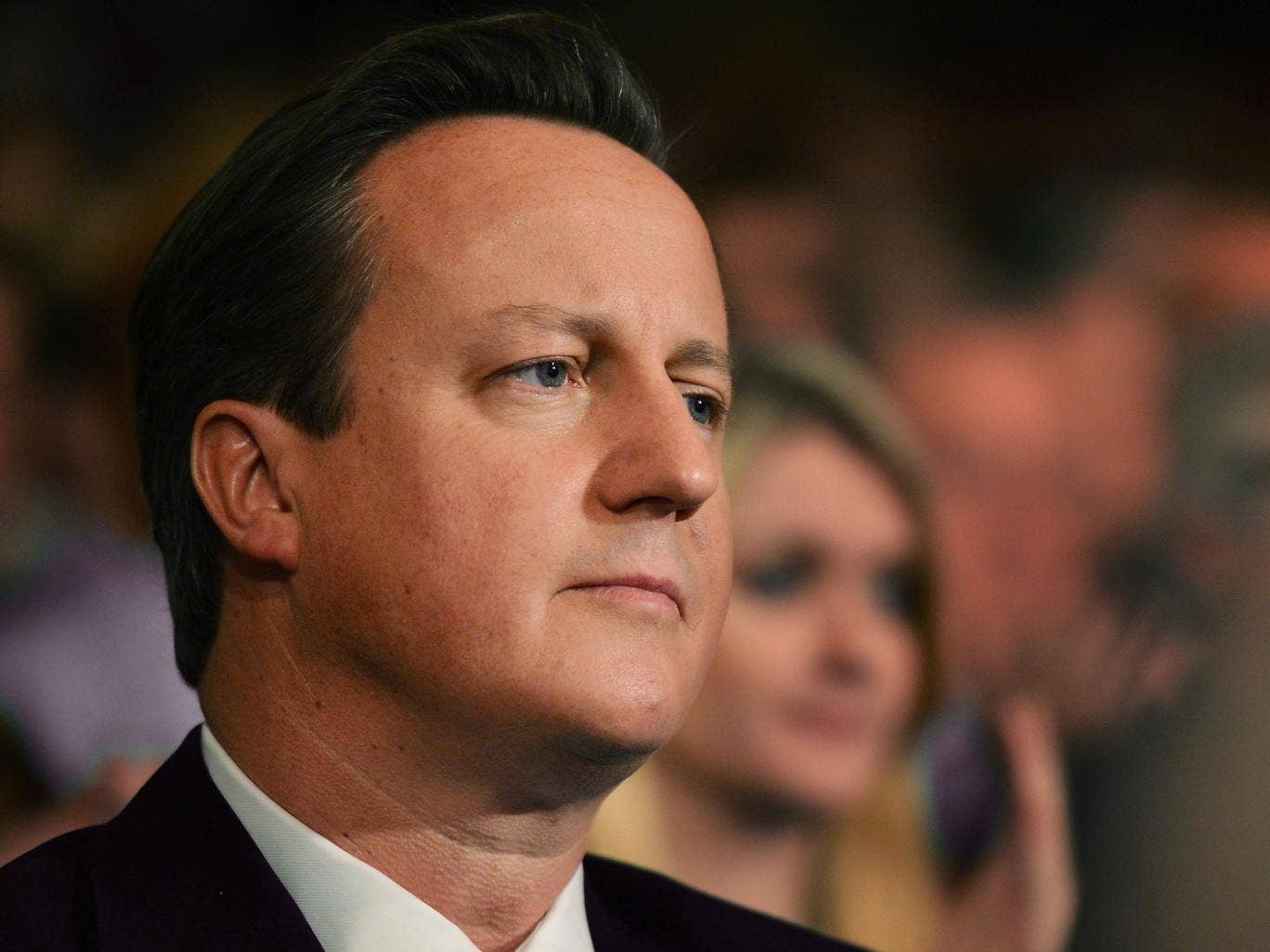 Cameron's party is perceived by a majority of the public to only represent the interests of the rich