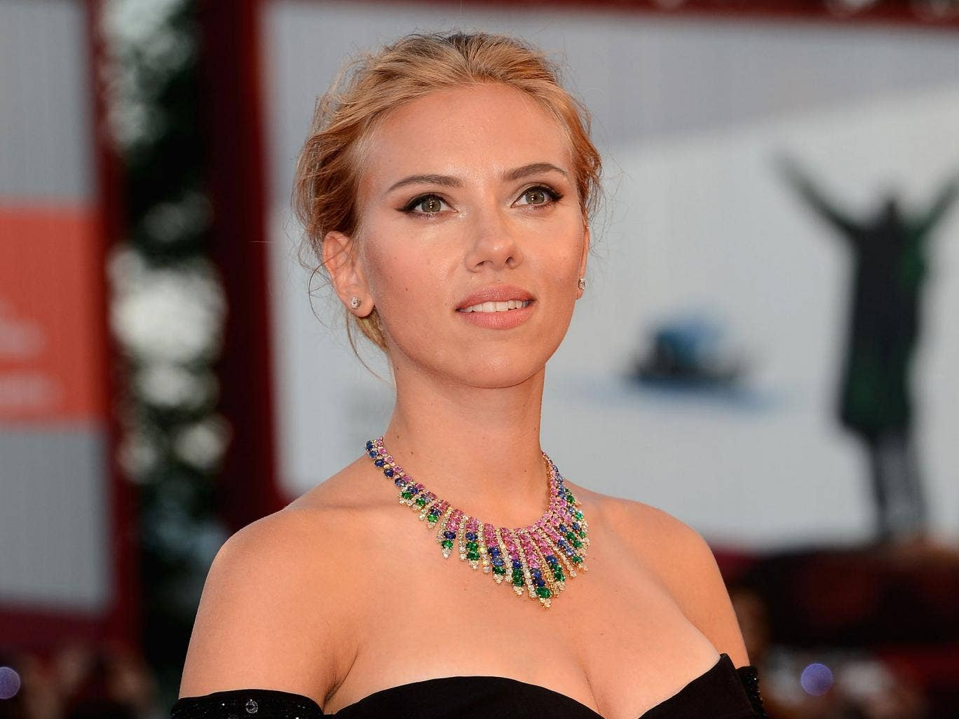 In 'Her', we only hear Ms Johansson, we do not see her