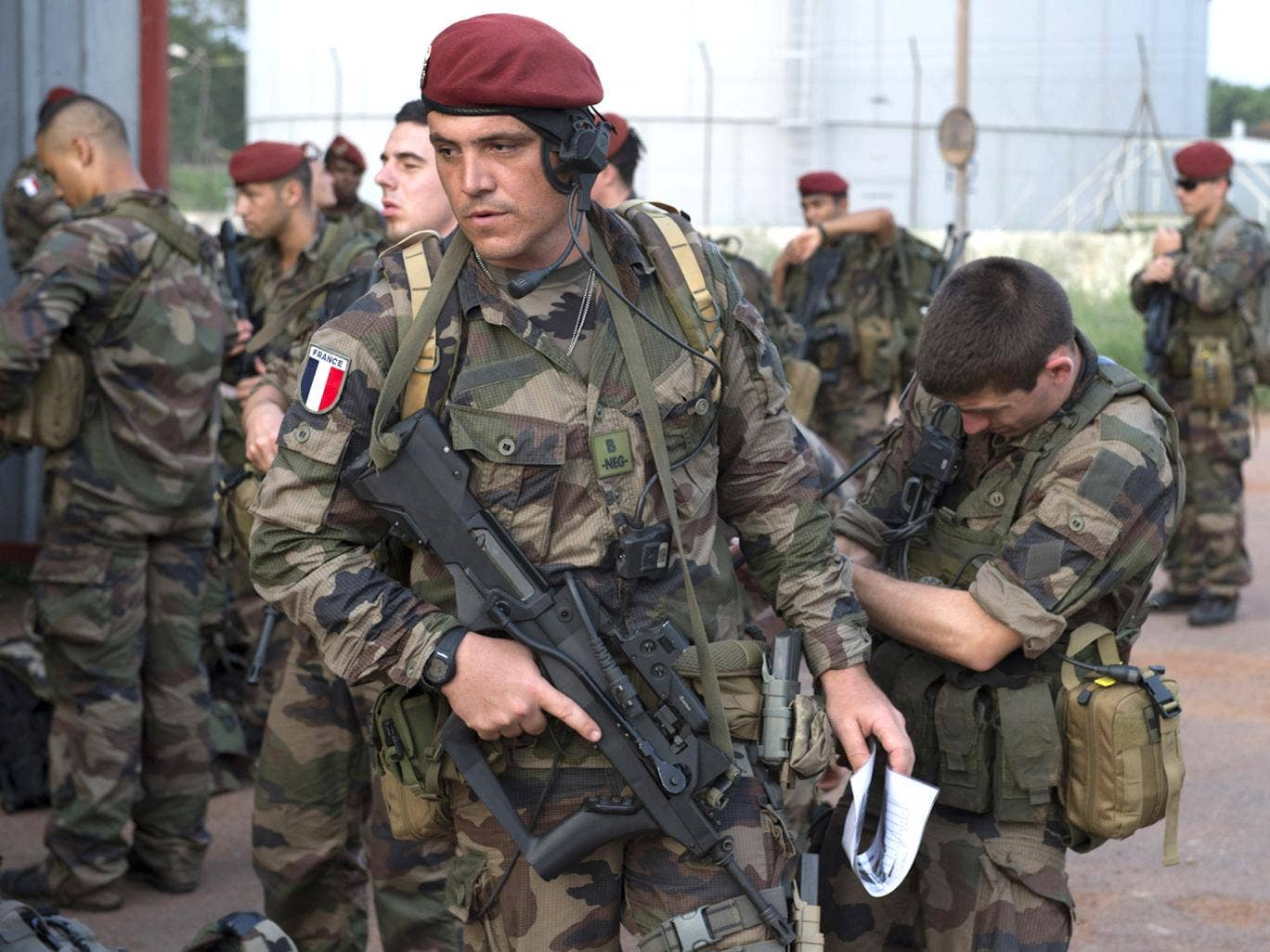 There are 400 French soldiers already on the ground in the Central African Republic