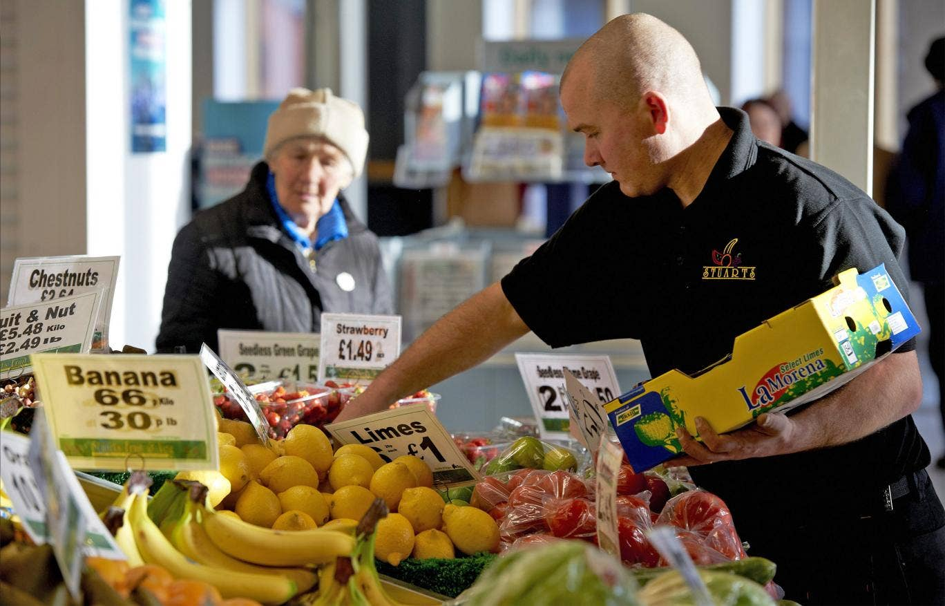 Fare trade: Moor market sells local foods