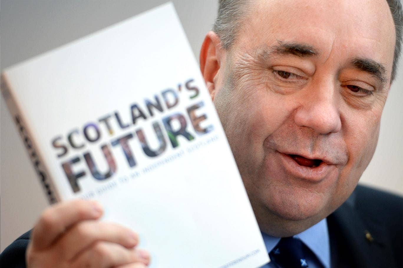 Scottish First Minister Alex Salmond presents the White Paper for Scottish independence