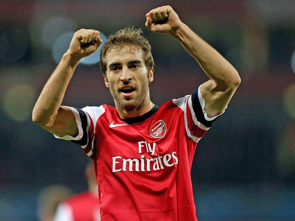 Mathieu Flamini has hit the ground running during his second spell at the North London club