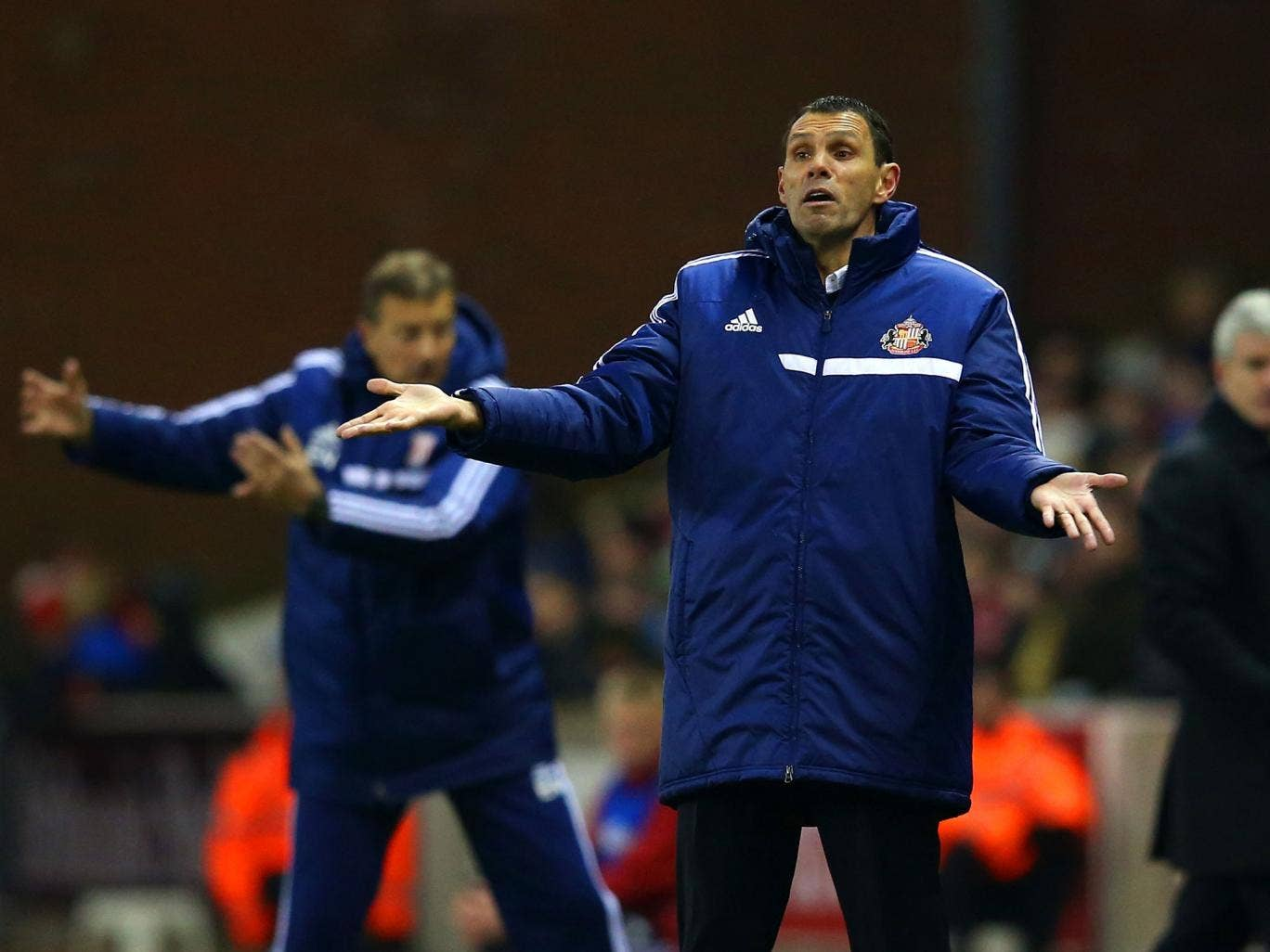 Gus Poyet has admitted his delight at the FA's decision to overturn the red card given to Sunderland defender Wes Brown