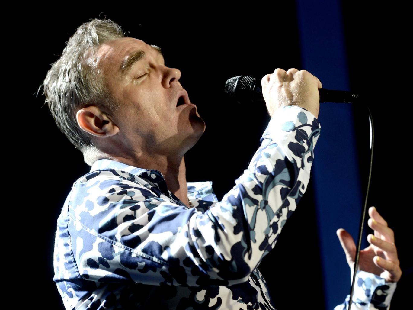 Former Smiths frontman Morrisey