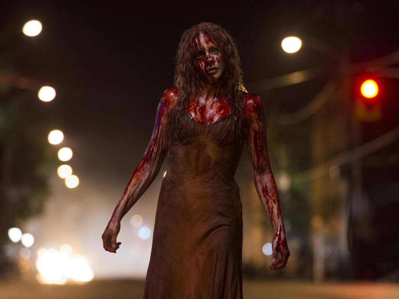 There will be blood: Chloë Grace Moretz in 'Carrie'