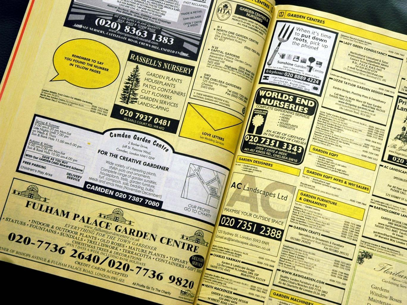 Yellow pages uk hibu login