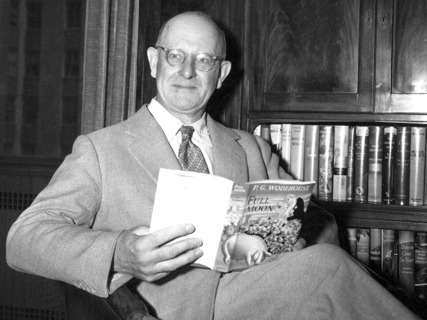 P G Wodehouse in 1947
