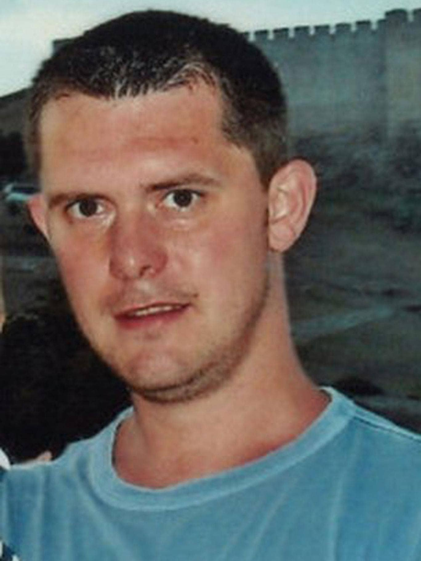 Christopher Foster was stabbed while having a cigarette with a friend in an alleyway outside a pub