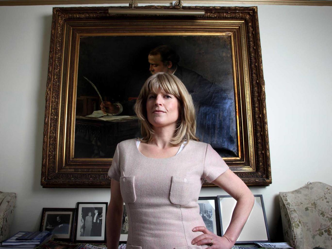 Rachel Johnson won a Bad Sex Award in 2008
