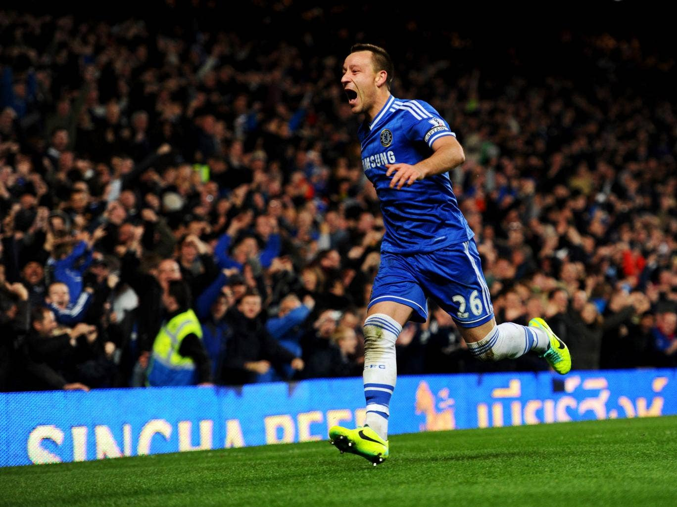 Chelsea captain John Terry has warned their Premier League rivals that they're getting better and better