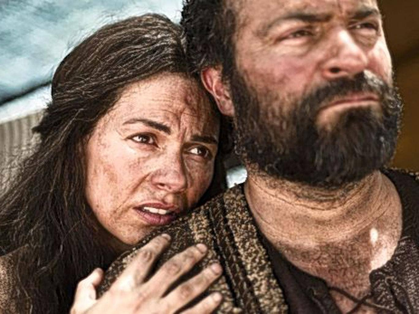 God squad: Sarah and Abraham in 'The Bible'