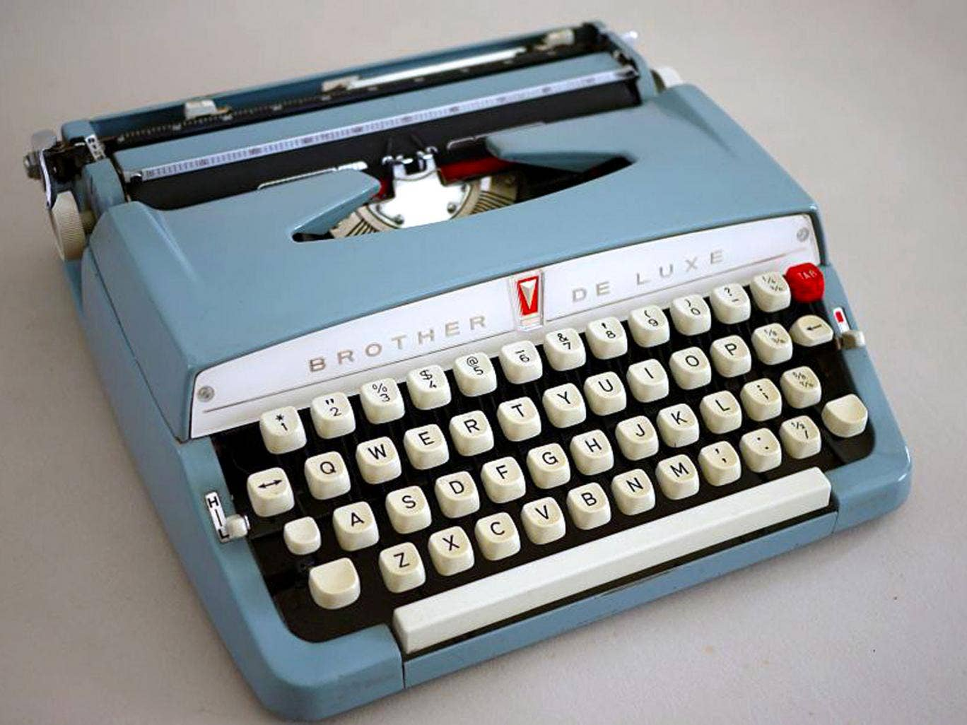 Playing to type: Anne pledged to write 50,000 words in November