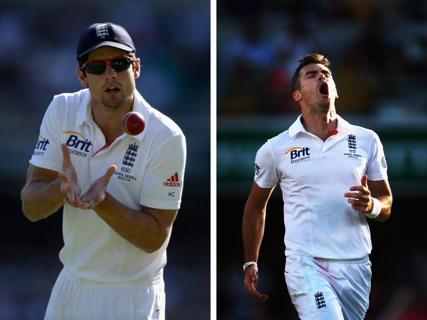 Alastair Cook and James Anderson have been nominated for the ICC Cricketer of the Year award