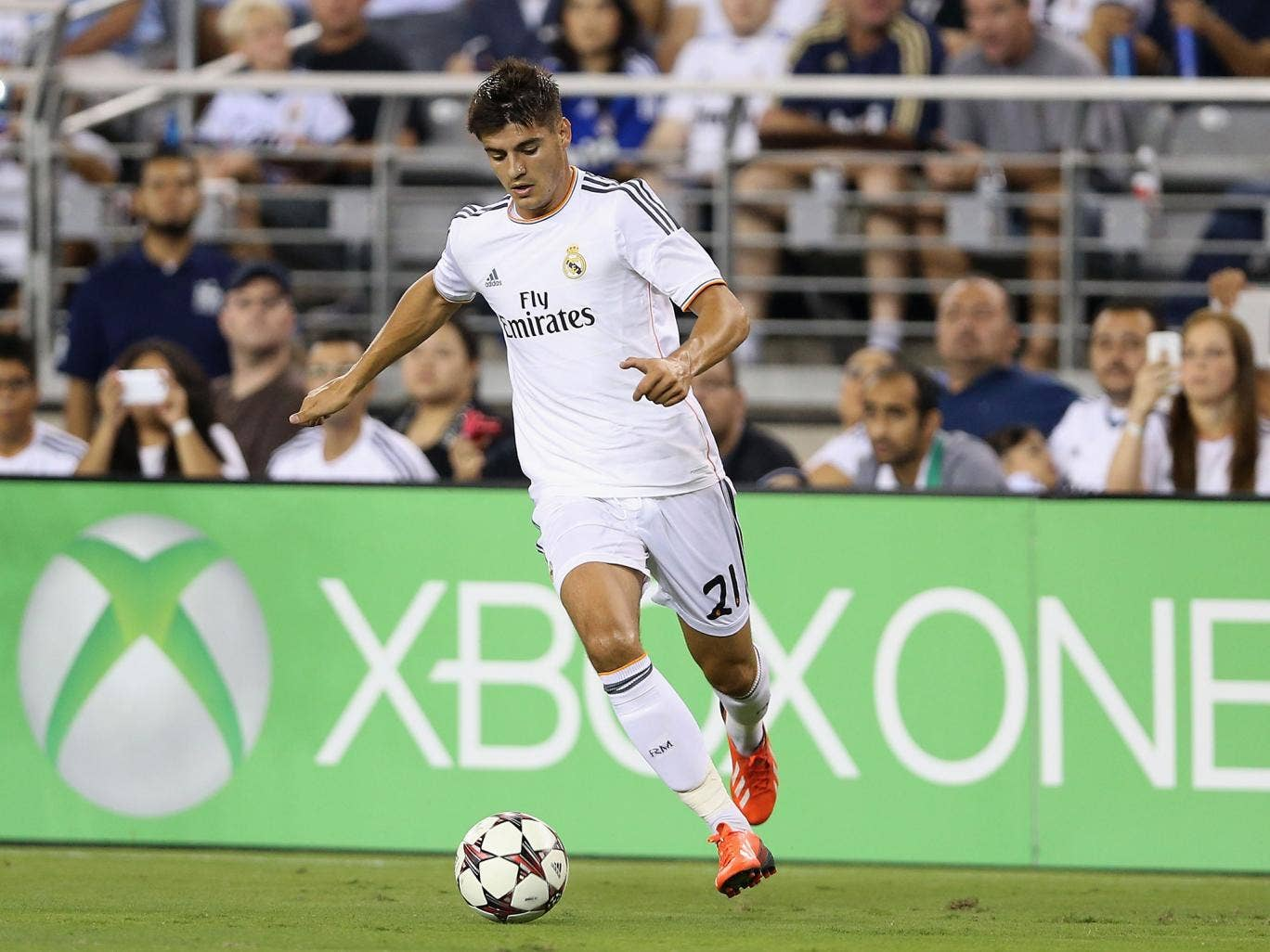 Real Madrid striker Alvaro Morata could be on his way to Arsenal after reports suggested the clubs have agreed a six-month loan deal