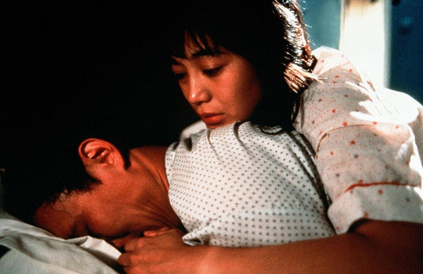 Danny Dun and Sylvia Chan in the 1988 film 'Soursweet'