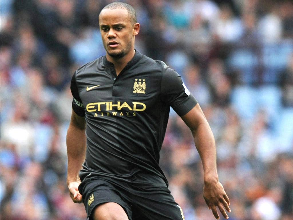 Manchester City's central defender Vincent Kompany is fit again after a thigh injury