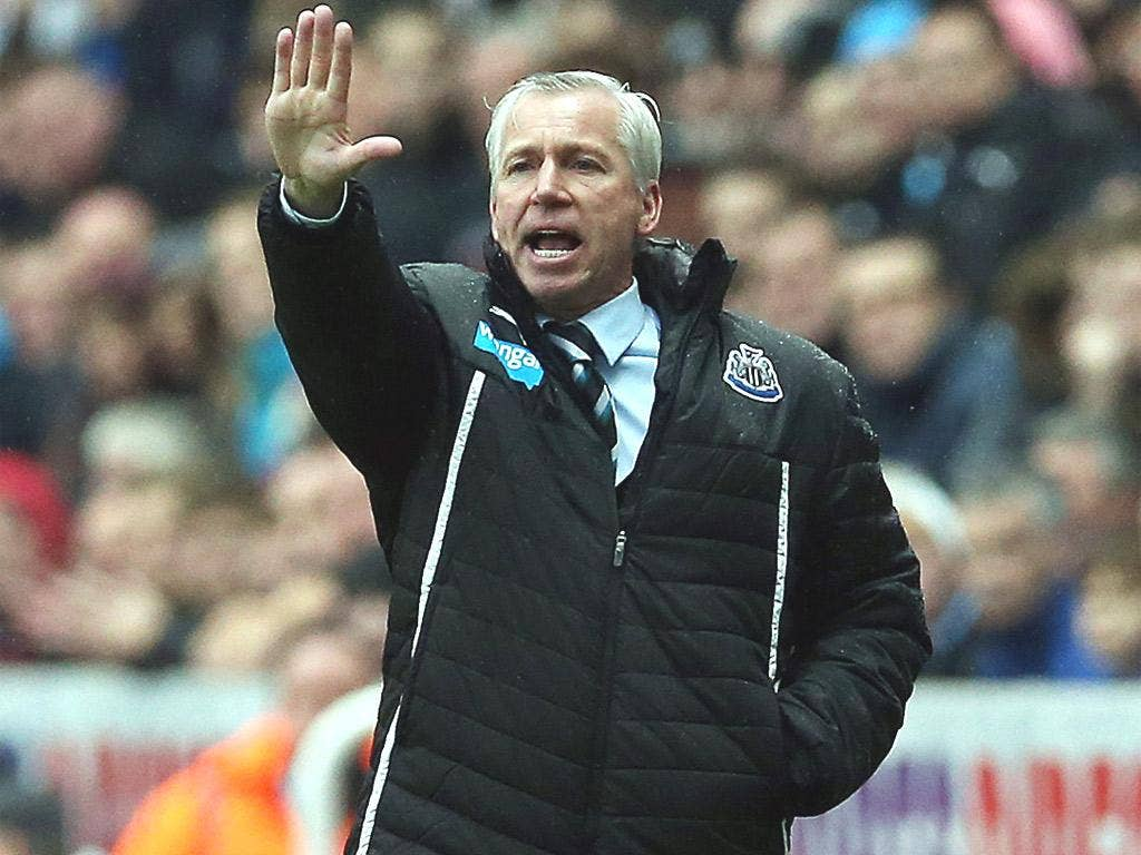 Alan Pardew hopes the fans will think he acted with 'dignity and respect'