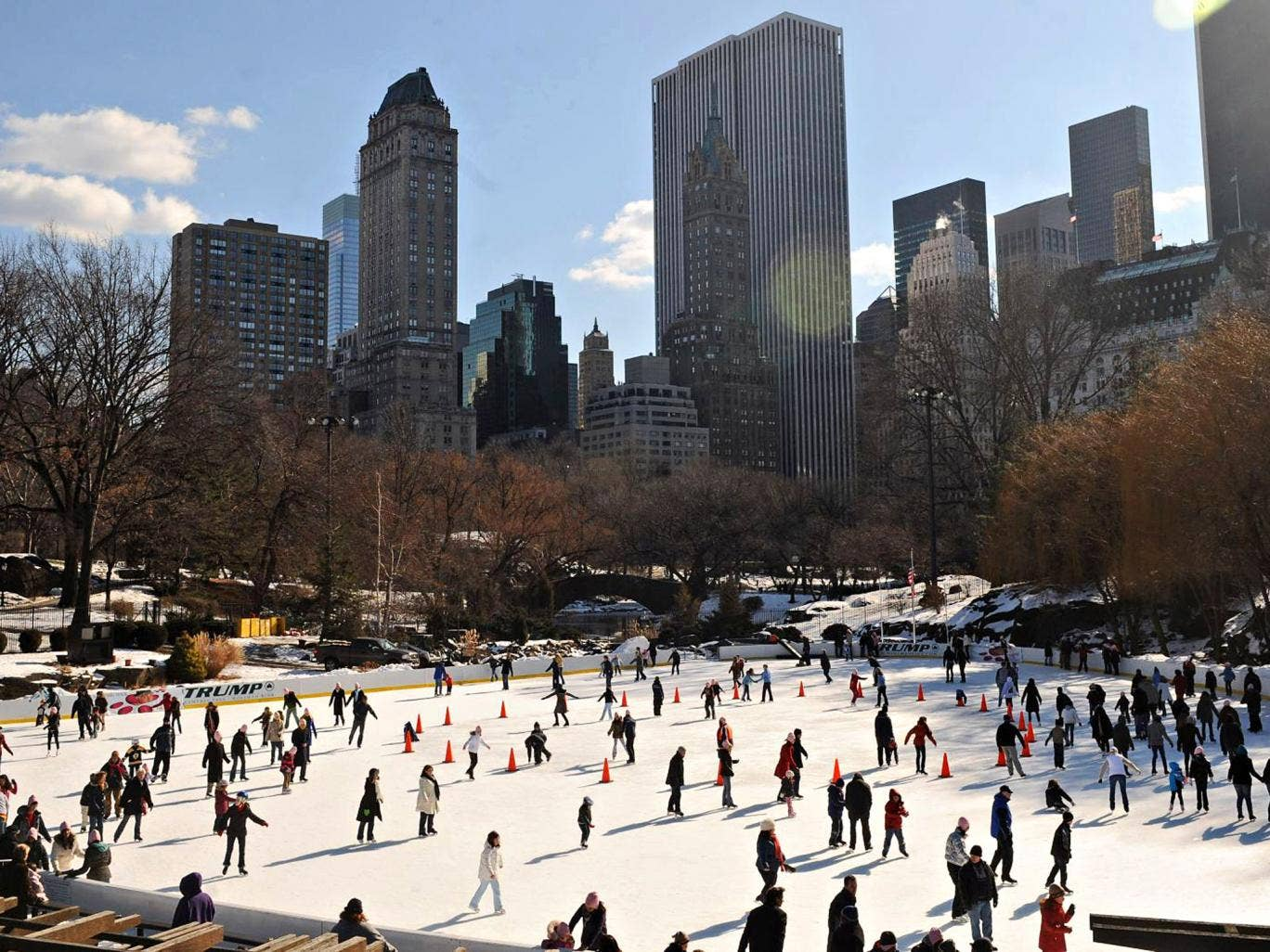 Get your skates on: New York has endless attractions, such as the Wollman ice rink