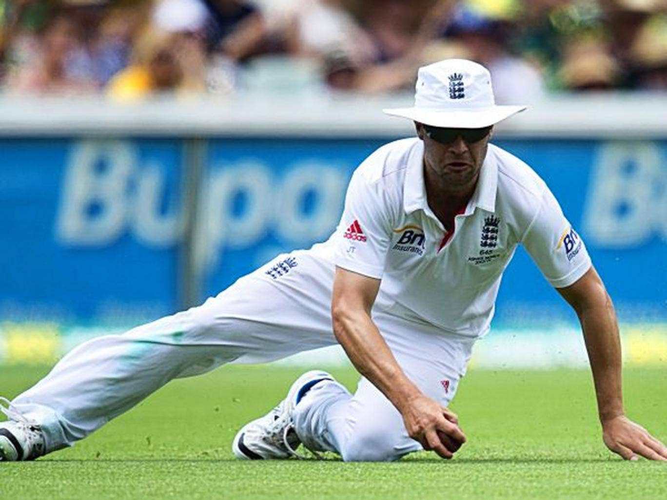 Jonathan Trott left the tour with a stress-related illness