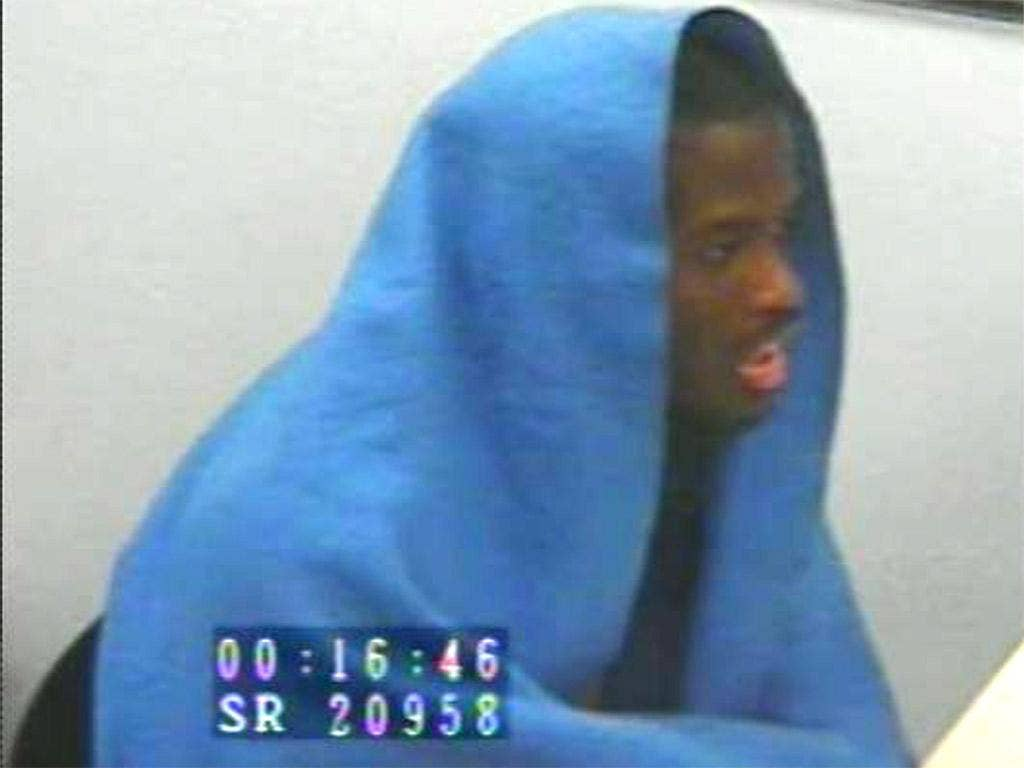 Michael Adebolajo during an interview with the police