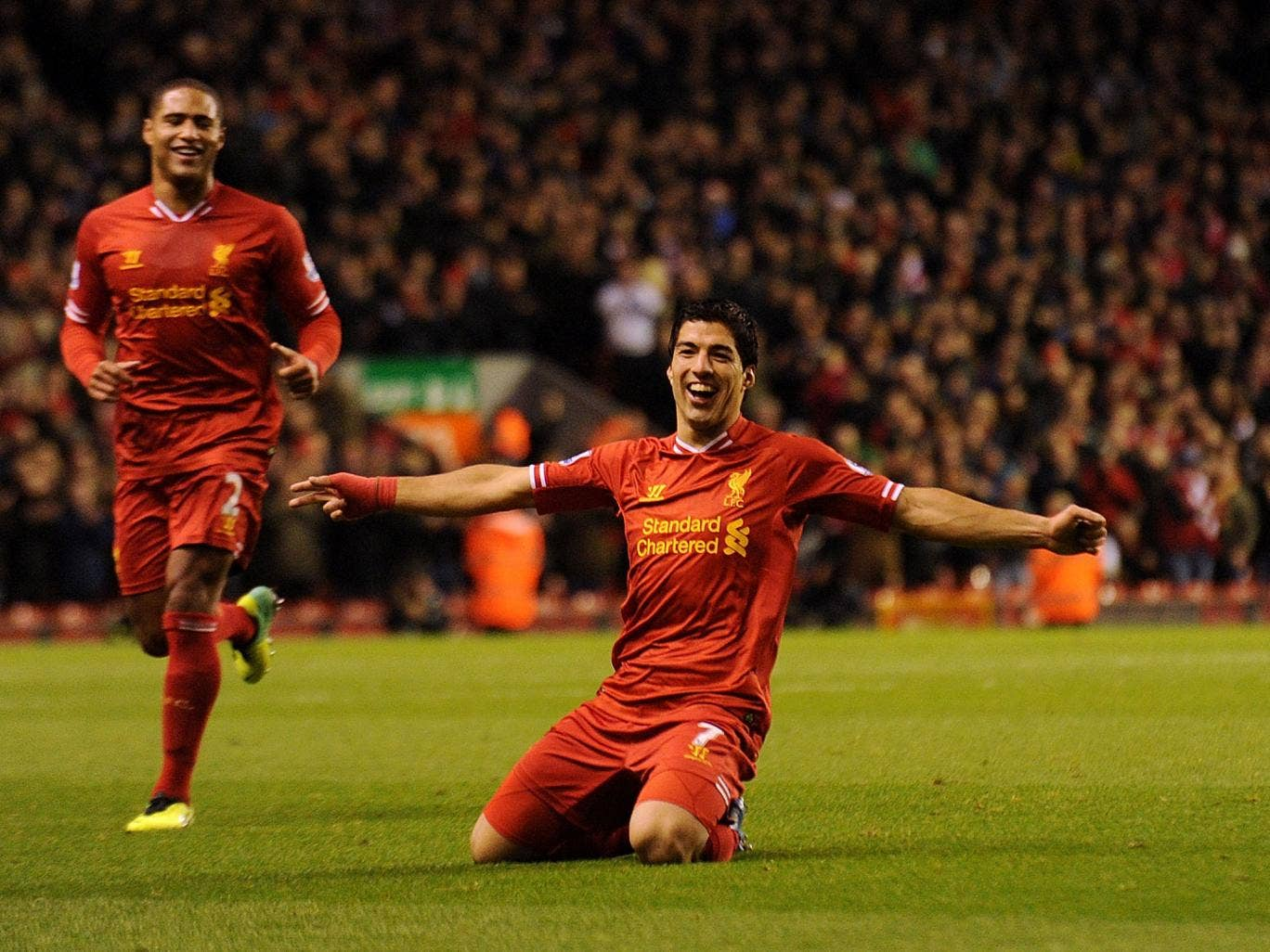 Luis Suarez is targeting a return to the Champions League with Liverpool