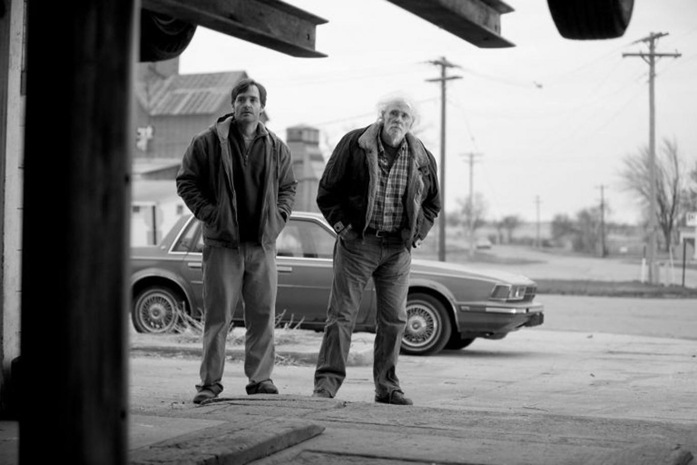 Taking the scenic route: Will Forte and Bruce Dern star in the drama 'Nebraska'