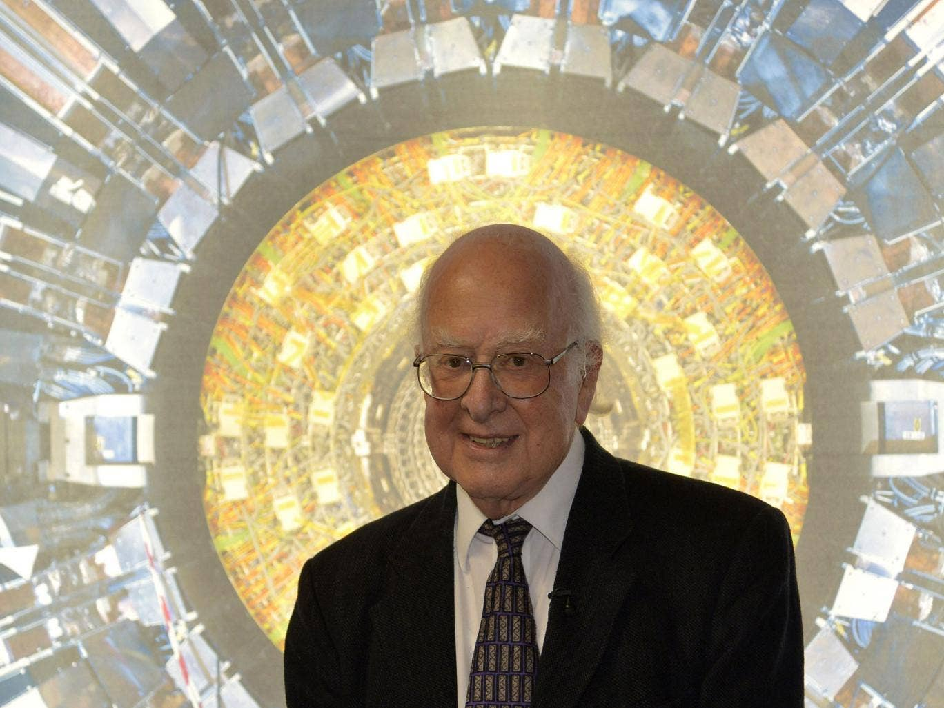 Peter Higgs is to be honoured with a new £11m space technology centre named after him