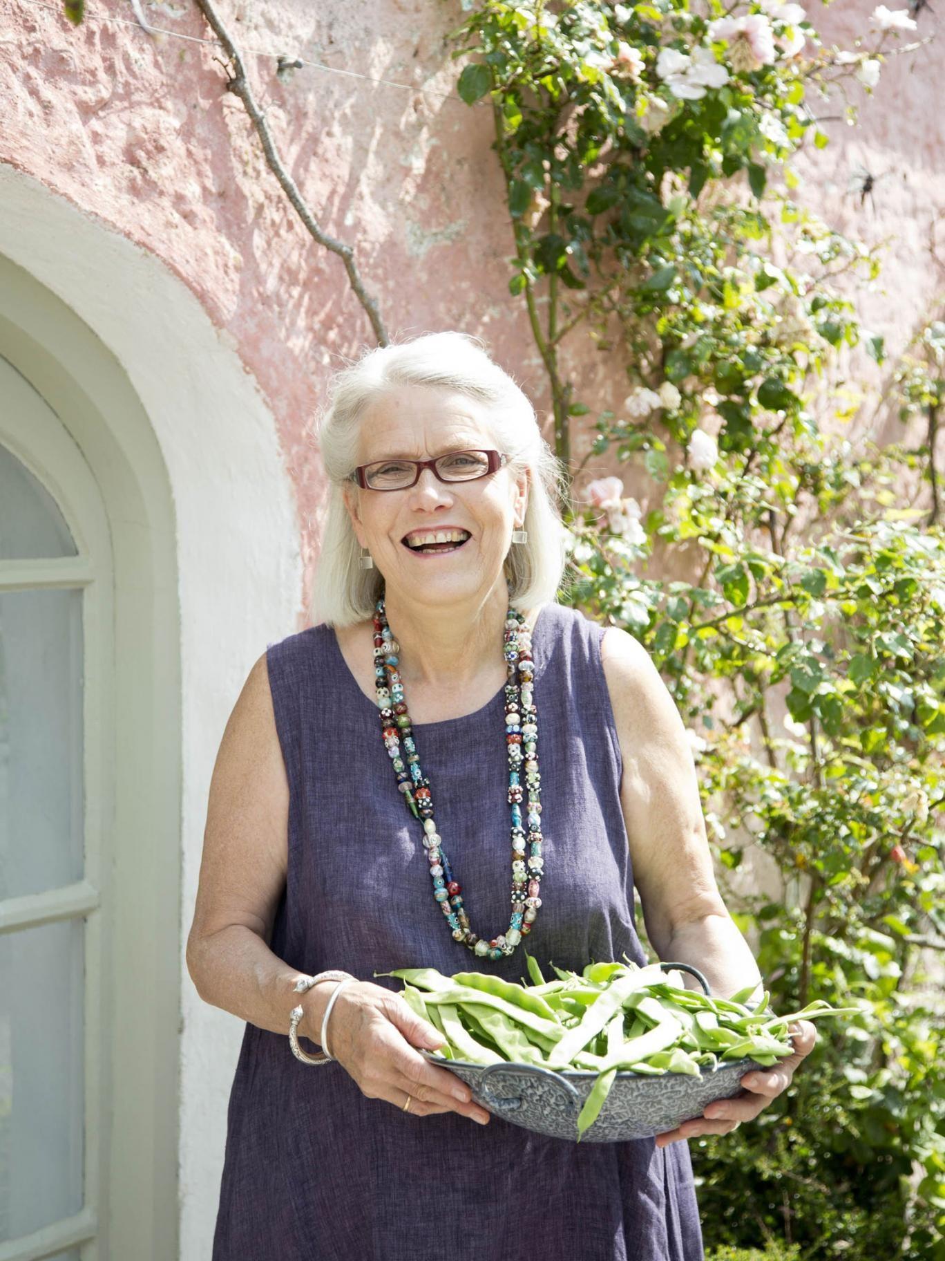 Fresh ideas: Darina Allen in the garden