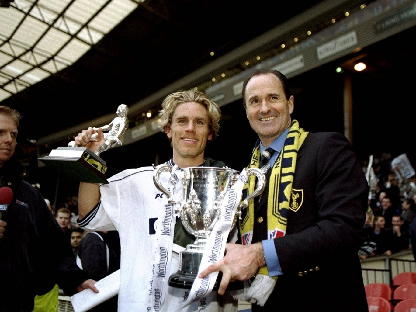 George Graham was never really accepted by Spurs fans because of his Arsenal connections