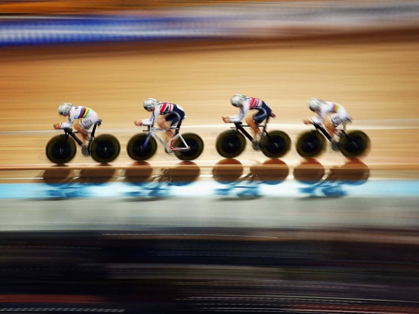 The British women's team pursuit have taken more than 10 seconds off their time in two months