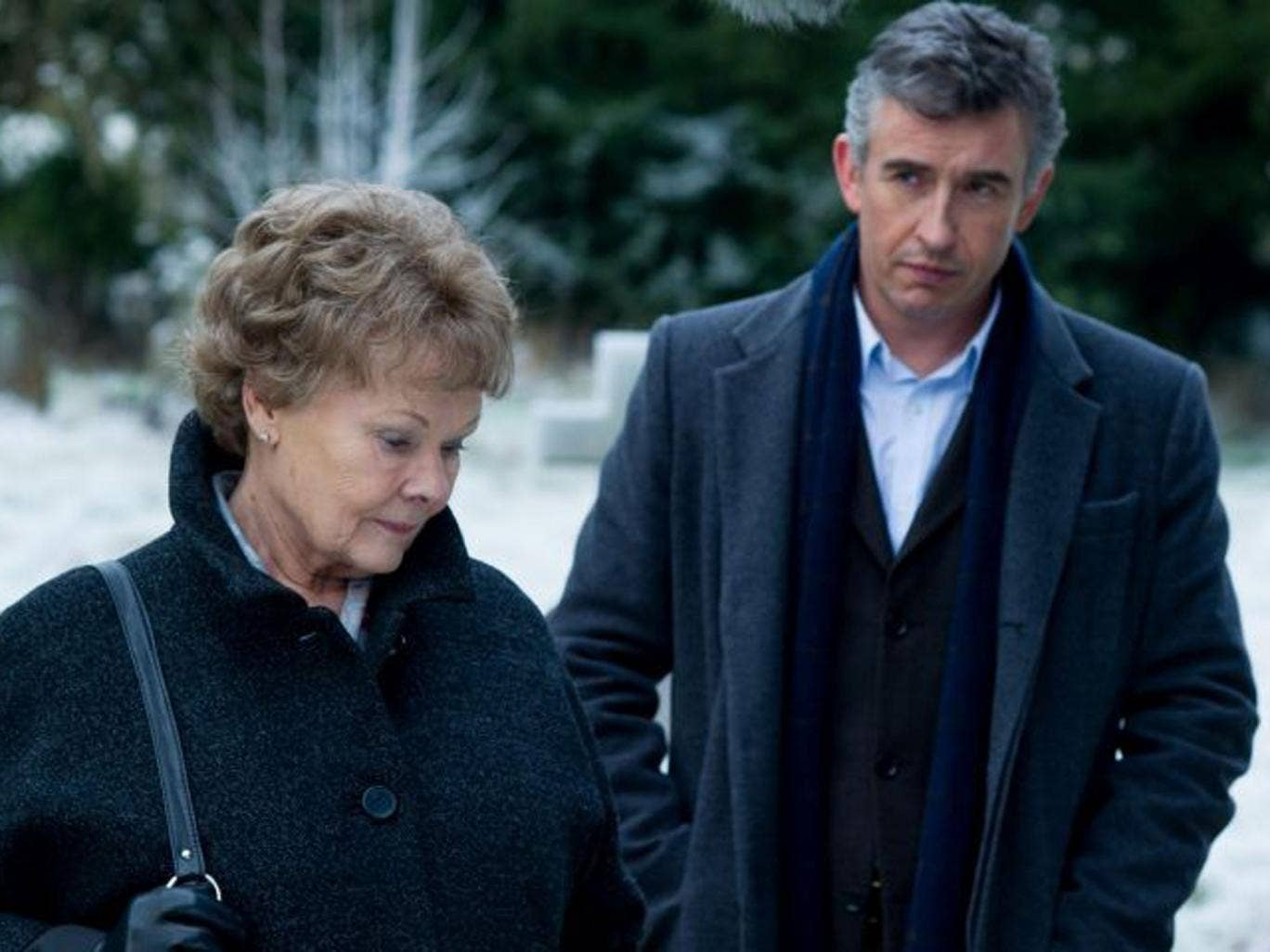A rare success: Dame Judi Dench and Steve Coogan in Philomena
