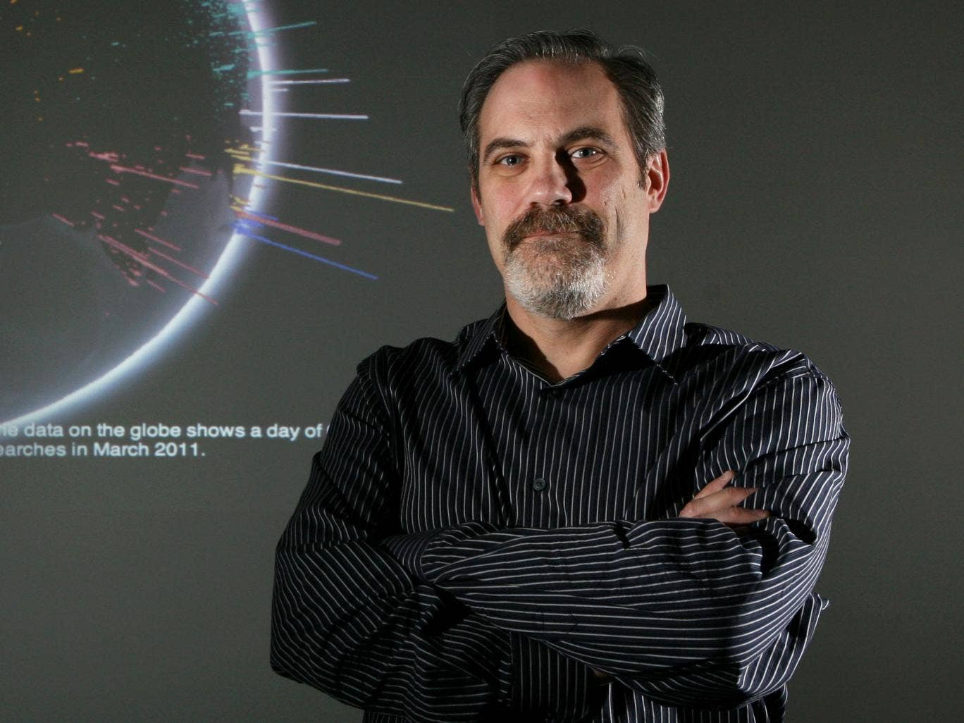 Scott Huffman, engineering director at Google: 'I don't have a microchip in my head – yet'