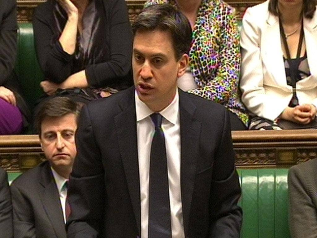 Ed Miliband has argued that the package could not go ahead during the biggest cost of living crisis for a generation