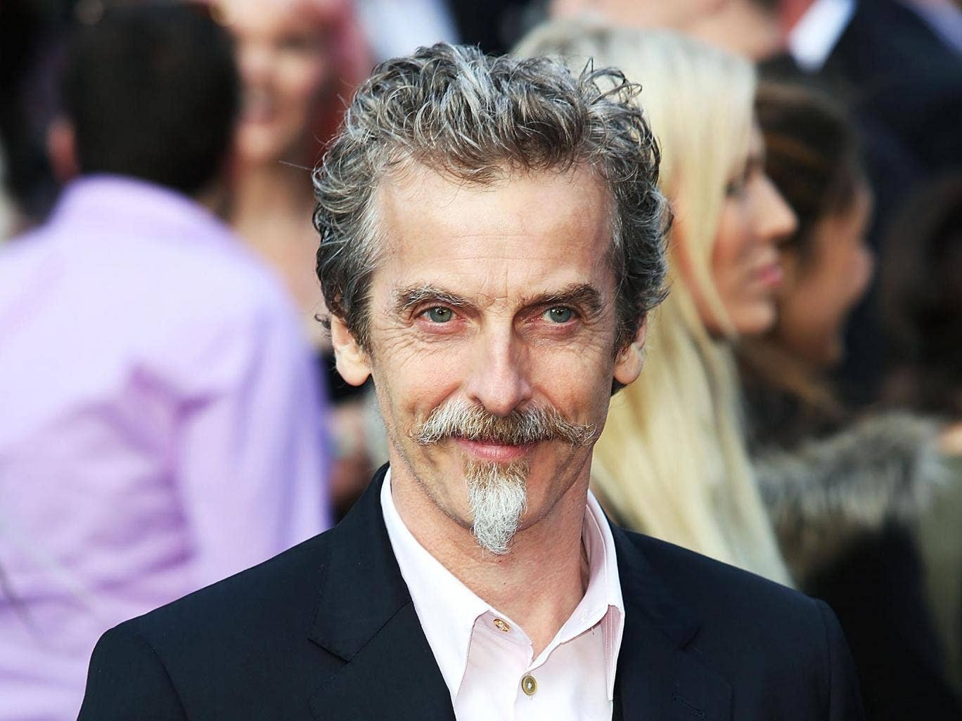 Peter Capaldi who will be playing the twelfth Doctor