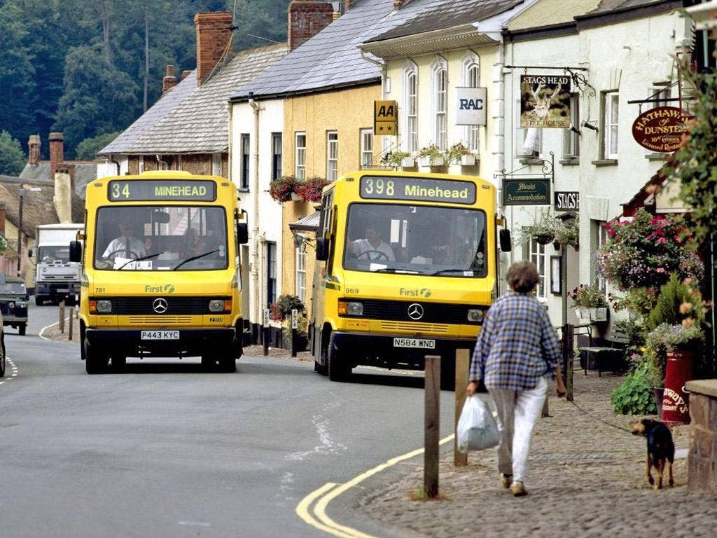 In some rural areas, almost every bus route is subsidised by the local council, and these are vulnerable as funding cuts bite further