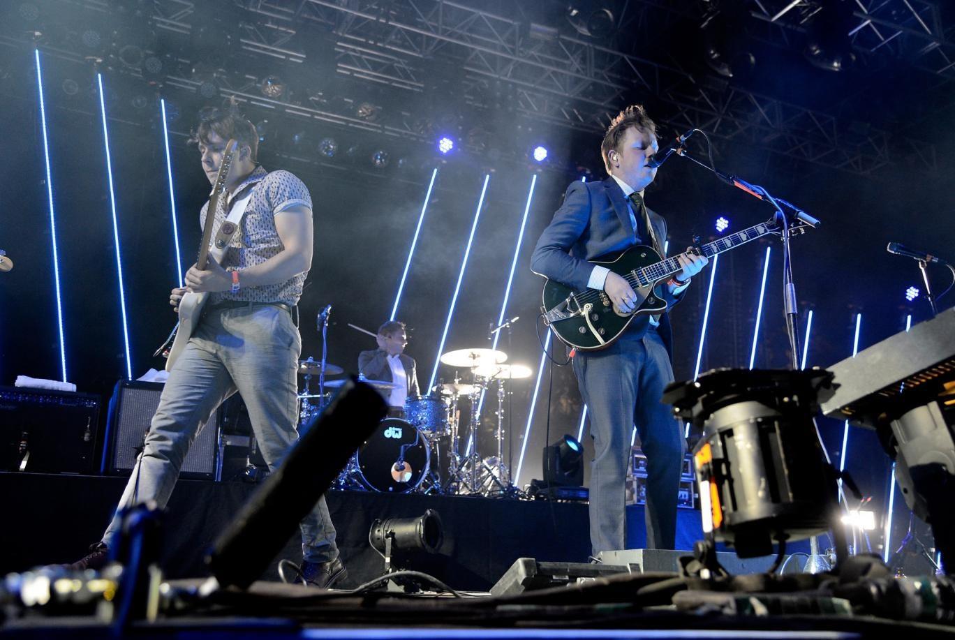 Northern Irish trio Two Door Cinema Club will play Latitude Festival next summer