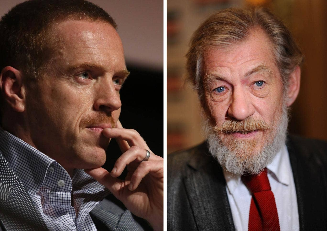 Damian Lewis has attempted to make amends with Sir Ian McKellen after offending him in a recent interview