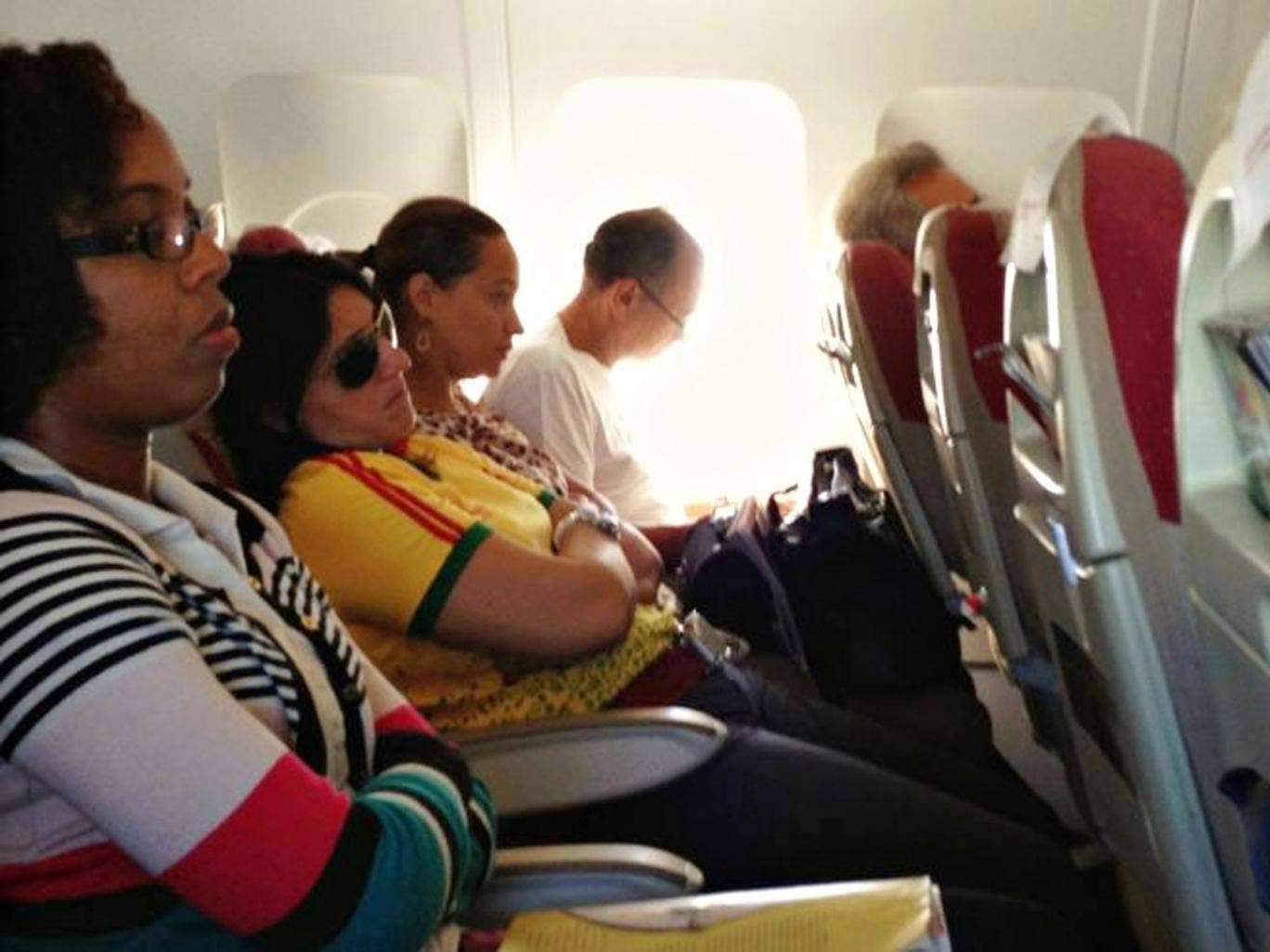 Switched on: the use of gadgets throughout flights is welcome news